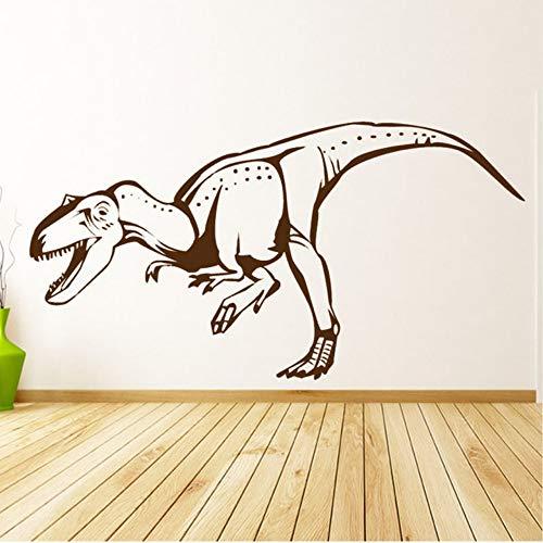Czxmp Öffnen Sie Den Mund T-Rex Wandtattoo Vinyl Removable Home Decor DinosaurierWandaufkleber Für Kinderzimmer 113 * 58Cm