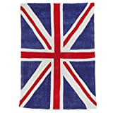Kiddy Rug Kinder Union Jack Patriot Teppich (70x100cm) (Blau/Rot/Weiß)