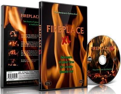 Feuer DVD - Kaminfeuer XL - extra lange offene Feuer mit dem Knistern von brennendem Holz