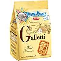 Mulino Bianco Biscotti Frollini Galletti con granelli di Zucchero - 800 gr