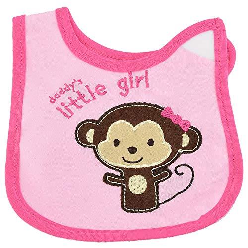 Cotton Cartoon Bib U-Shape Waterproof Toddler Lunch Infant Saliva Towel Bib Baby Girl Baby Infant Toddler Bib