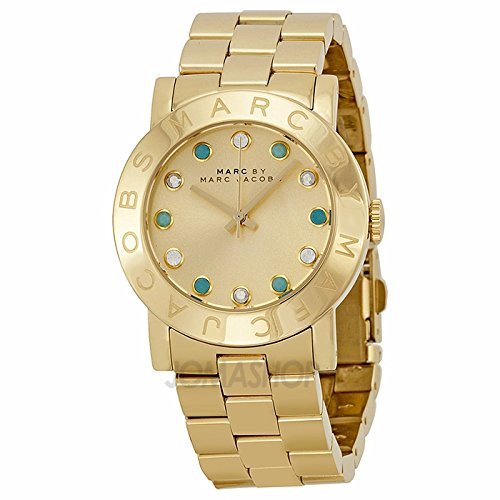 Marc Jacobs Marc by Marc Jacobs Amy Dexter Men's Gold Dial Gold Ladies Watch MBM3215