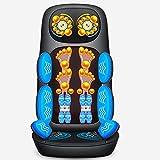 WEII Massagegerät Massagekissen Multifunktions-Hals Taille Schulter Rücken Körper Massagegerät Elektrische Massagegerät
