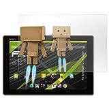 atFolix Displayschutz für Sony Xperia Z4 Tablet Spiegelfolie - FX-Mirror Folie mit Spiegeleffekt