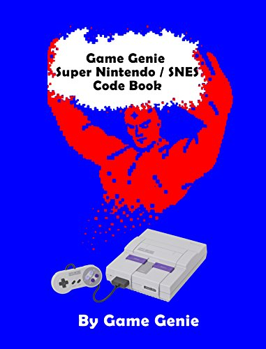 Game Genie Super Nintendo / SNES Code Book (English Edition ...