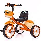 HUALQ Fahrrad, Kinderpedaldreirad, männlicher und Weiblicher Babyroller, Einfaches Fahrrad