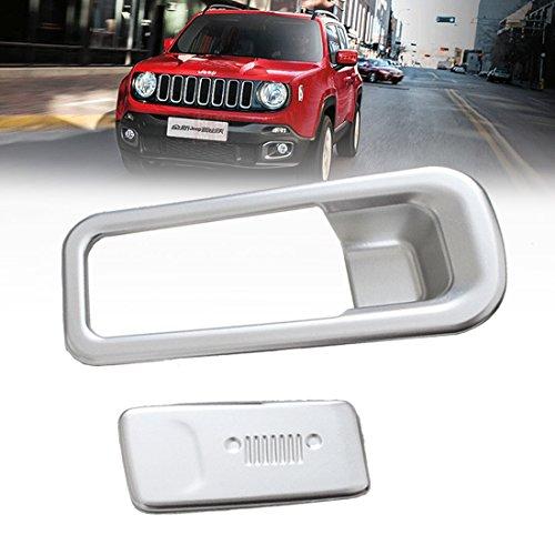 Auto Innen Handschuhfach-Griff-Abdeckleiste Glove Box Interieurleisten ABS(2 Stück)