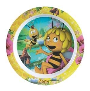 Spel - 004681 - Ameublement et Décoration - Assiette - Maya l'abeille - Mélamine
