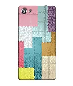Fuson Designer Back Case Cover for Sony Xperia Z5 Compact :: Sony Xperia Z5 Mini (Dots Stones Thermocol Design)