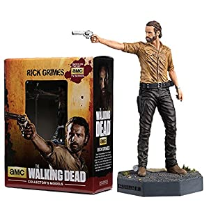Figura de plomo y resina The Walking Dead Collector's Models Nº 1 Rick Grimes 10