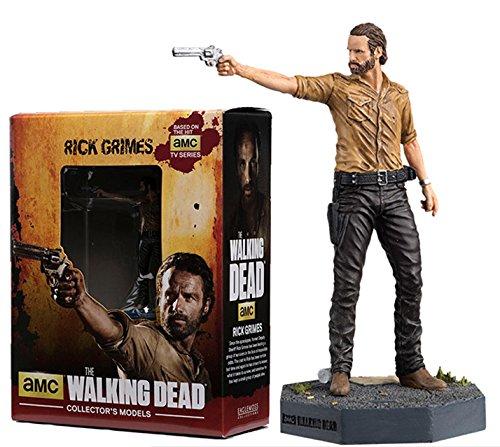 Figura de plomo y resina The Walking Dead Collector's Models Nº 1 Rick Grimes 1