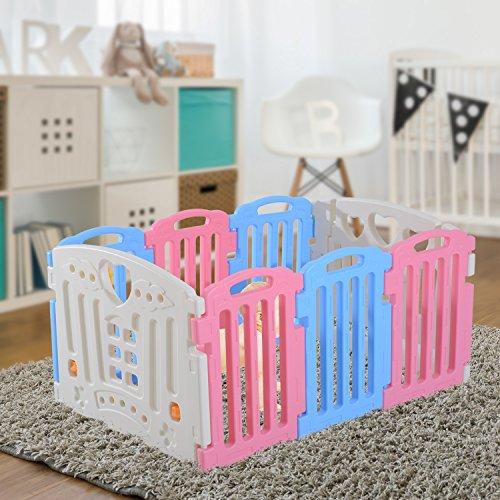 homcom-recinto-modulare-8-pezzi-con-cancelletto-per-il-gioco-in-sicurezza-dei-bambini-con-certificat