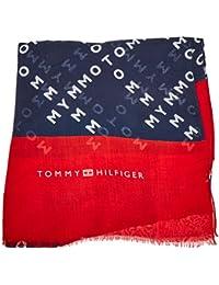 Tommy Hilfiger Bold Scarf, Tribly Femme, Bleu (Corporate 901), Unique ( 9c29e141019