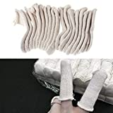 SWISSO 20 Cotton Finger guards watch caps cots handling movements parts jewellers tool