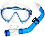Mares Kinder Maske plus Schnorchel Set Sharky, Blue, 4-7 Jahre, 411729SFRBLCL