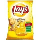 Lay's chips moutarde pickles 130g (Prix Par Unité) Envoi Rapide Et Soignée