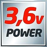 Einhell Akku Knick Schrauber TC-SD 3,6 Li (Lithium Ionen, 3,6 V, 1,3 Ah, 3 Nm, LED-Licht, LED-Batterieanzeige, inkl. 6 Bits und Ladegerät) - 9