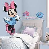 RoomMates RMK1509GM - Pegatinas de pared, diseño Minnie Mouse gigante
