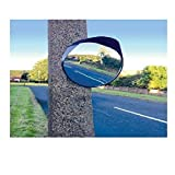 Wheels N Bits NEW Convex Mirror 45cm 17 Inch Blind Spot Wide Angle Traffic Driveway Road Workshop