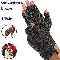 ZREAL 1 Paar Kompressionshandschuh Karpaltunnel Handgelenkstütze Arthritis Therapie Schmerzlinderung Fingerlose... preisvergleich bei billige-tabletten.eu