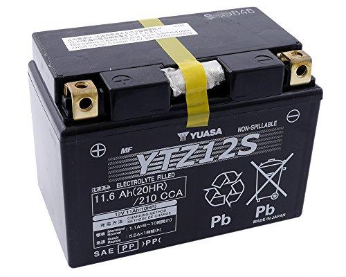Batteria YUASA - YTZ12S esente da manutenzione per YAMAHA TMAX 530 ccm anno 11-