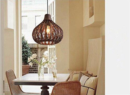 YIZHANGModernen Kreatives und einzigartiges Design Kronleuchter Wohnzimmer Hotel Büro Zimmer LED E27 * 1 Eisen Papier Haut 34 * 33cm -