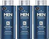 Schwarzkopf Shampooing Protéine Pureté/Fraîcheur pour Homme 250 ml - Lot de 3