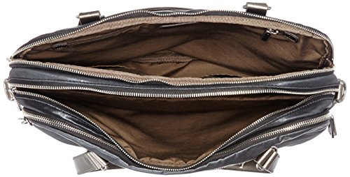 Kipling - NEAT - Borsa Porta Computer - Soft Geo Bl - (Multi color) Nero (Night Metal)