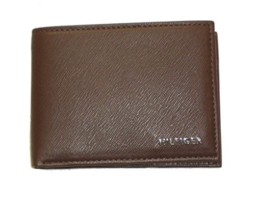 Portafoglio pelle brent tommy hilfiger TH 17637 wallet leather con portaspicciol