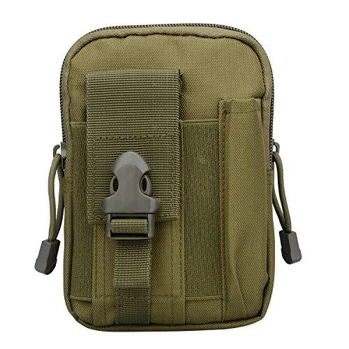 1000D Nylon Impermeabile Tattico Multiuso Utilità Gadget Sacchetto Borsa Nero Verde militare