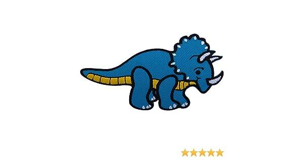 Iron On Embroidery Applique Patch Sew Iron Badge Parasaurolophus Dinosaur