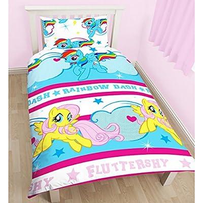 My Little Pony Childrens Girls Official Reversible Single Duvet