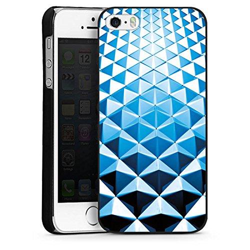 Apple iPhone 4 Housse Étui Silicone Coque Protection Rivets Motif Motif CasDur noir