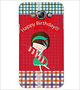 PrintDhaba Quote D-3597 Back Case Cover for SAMSUNG GALAXY E7 (Multi-Coloured)