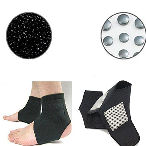 Selbstheizende Knöchelpflege, Fersen-Gürtelpolster, Turmalin, Infrarot, Magnettherapie, Unterstützung für Fersenfußmassage, Gesundheitspflege
