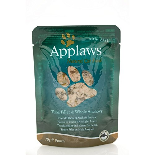 APPLAWS CAT Natural food in busta con tonno e acciughe umido gatto gr. 70