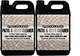 Pro-Kleen Patio & Driveway Cleaner (2 x 5L) • Kills All Moss, Mould & Algae • Extremely Powerful Formula for Cleaning Patios and Driveways • Powers Through Stubborn Dirt and Grime • Use on Block Paving, Concrete Paths, Steps, Flags and more