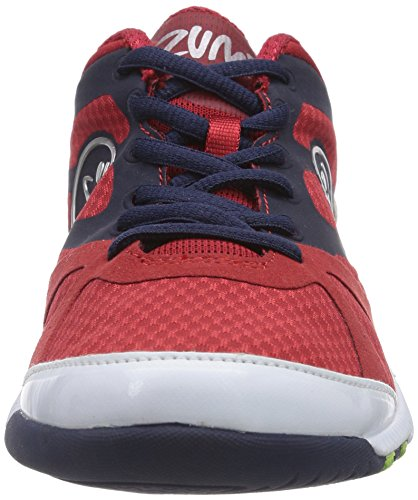 Zumba Impact Max, Chaussures Mixte Adulte Rouge (Red/Navy/White)