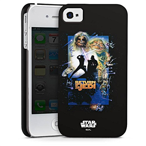 Apple iPhone X Silikon Hülle Case Schutzhülle Star Wars Merchandise Fanartikel Return Of The Jedi Premium Case glänzend