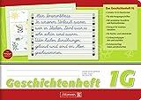 Geschichtenheft / Schulheft LINEATUR 1G (Din A5 - 16 Blatt / quer) FÜR RECHTS- UND LINKSHÄNDER