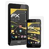 atFolix Schutzfolie für ASUS PadFone Mini 4.3 (Tablet&Smartphone) Displayschutzfolie - 3er Set FX-Antireflex blendfreie Folie