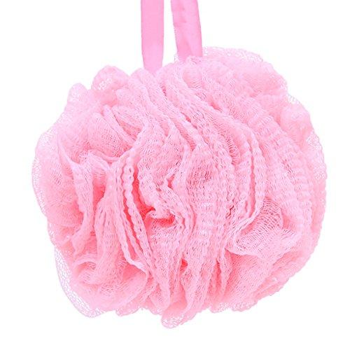 Farbe Baden Ball Nehmen Sie ein Bad Scrubbing Ball voll von Farbe Glanz weich und komfortabel ( Color : Pink ) (Bad, Ball Track)