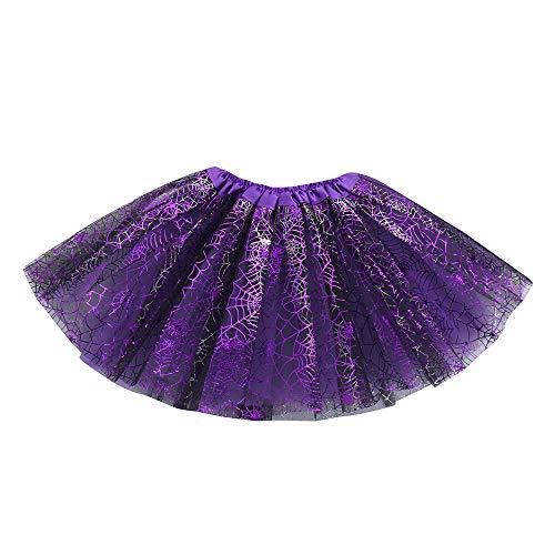 Tutu Rock Ballettrock Mädchen Tütü Minirock 3 Schichten Tüll Tüllrock Prinzessin Regenbogen Röckchen Tanzkleid Halloween Verkleidung Karneval Party von ()