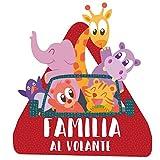 StarStick - Familia a bordo. Animales – triángulo adhesivo de Bebé a Bordo - Castellano