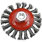 Silverline 633510 - Cepillo cónico de acero trenzado (100 mm)