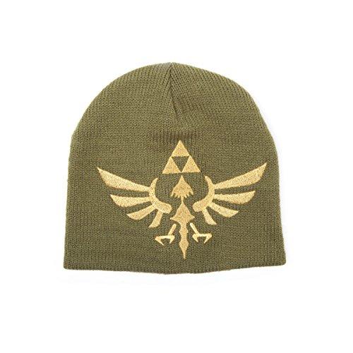 Zelda Mütze gewebtes goldenes Logo