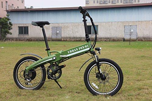 Bicicletta Elettrica Pieghevole Urban Fox 01