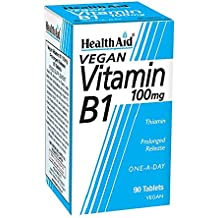 HealthAid Vitamin B1 100 mg - 90 Tablets (Thiamin)