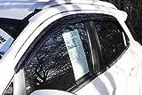 Autoclover Jeu de 4 déflecteurs d'air pour Ford Ecosport (Fumé)