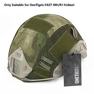 OneTigris Housse/Couvre-casque Camouflage Pour Casque FAST MH/PJ De OneTigris